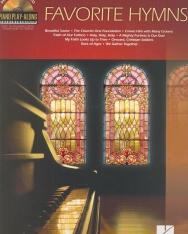 Favorite Hymns - ének-zongora-gitár, CD-melléklettel