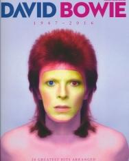 David Bowie: Greatest Hits 1947-2016 (ének-zongora-gitár)