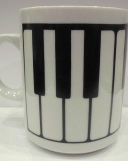 Bögre - zongorabillentyűs
