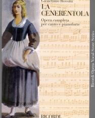 Gioacchino Rossini: La Cenerentola (Hamupipőke) - zongorakivonat (olasz)