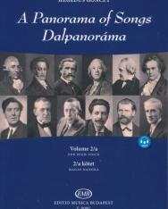 Dalpanoráma - Négy évszázad könnyű dalai magas hangra 2/a