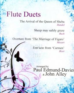 Flute Duets (Handel, Bach, Mozart, Bizet) - zongorakísérettel