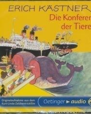 Erich Kästner: Die Konferenz der Tiere - Audio CD