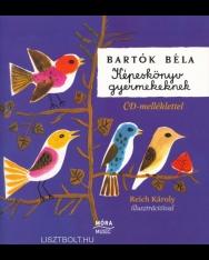 Bartók Béla: Képeskönyv gyermekeknek (CD-melléklettel)
