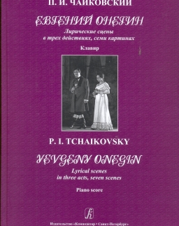 Pyotr Ilyich Tchaikovsky: Yevgeny Onegin zongorakivonat