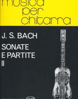 Johann Sebastian Bach: Sonate e Partite 2. - gitárra