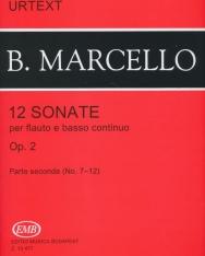 Benedetto Marcello: 12 Sonate fuvolára 2.