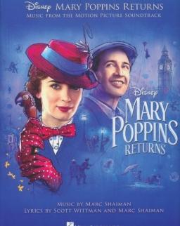 Mary Poppins Returns - ének-zongora-gitár
