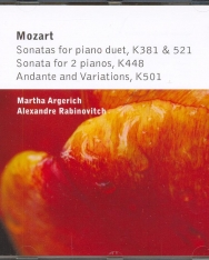 Wolfgang Amadeus Mozart: Sonatas for piano duet K381&521, Sonata for 2 pianos K448, Andante and Variations K501