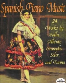 Spanish Piano Music - works by Albéniz, Granados, De Falla, Soler, Turina