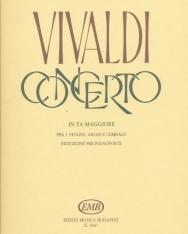 Antonio Vivaldi: Concerto for 3 Violin and Piano (F-fúr)