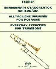 Steiner Ferenc: Mindennapos skálagyakorlatok harsonára