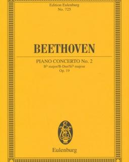 Ludwig van Beethoven: Concerto for piano Nr. 2  - kispartitúra