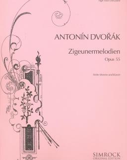 Antonin Dvorák: Zigeunermelodien op. 55 (hohe stimme)