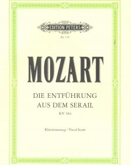 Wolfgang Amadeus Mozart: Die Entführung aus dem Serail - zongorakivonat (német)