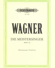 Richard Wagner: Die Meistersinger- zongorakivonat (német)