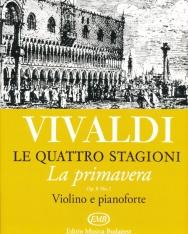 Antonio Vivaldi: Quattro stagioni 1. (La primavera) hegedűre