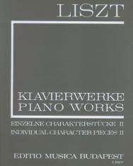 Liszt Ferenc: Einzelne Charakterstücke 2. (fűzött)