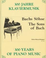 300 év zongoramuzsikája - Bach-fiúk