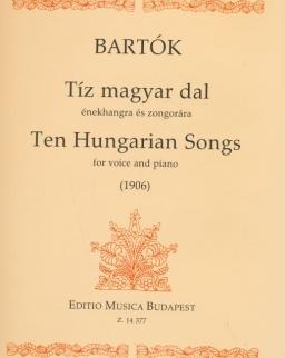 Bartók Béla: Tíz magyar dal
