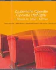 Zauberharfe Operette (ifj. J. Strauss, Lehár, Kálmán)