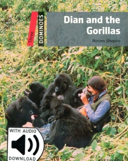 Dian and the Gorillas with Audio Download - Oxford Dominoes Level 3