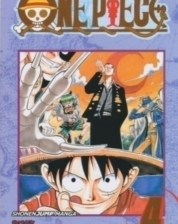 Eiichiro Oda: One Piece Volume 4