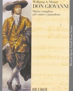 Wolfgang Amadeus Mozart: Don Giovanni - zongorakivonat (olasz)