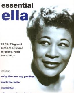 Ella Fitzgerald: Essential Ella (ének-zongora-gitár)