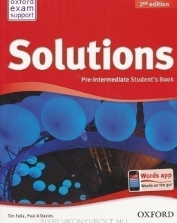 Solutions Pre-Intermediate 2nd Edition Student's Book