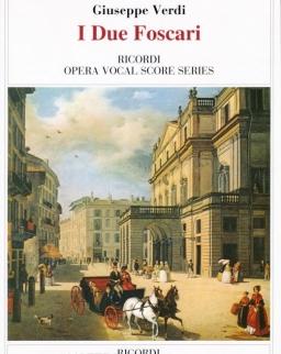 Giuseppe Verdi: I Due Foscari - zongorakivonat (olasz)