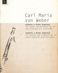 Carl Maria von Weber: Andante e Rondo Ungherese - fagottra