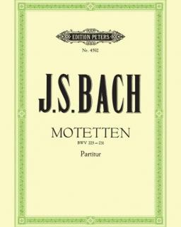 Johann Sebastian Bach: Motetten - zongorakivonat
