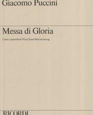 Giacomo Puccini: Messa di Gloria - zongorakivonat
