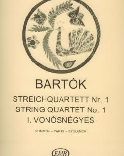 Bartók Béla: String Quartet 1. (szólamok)