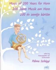 200 év zenéje kürtön (zongorakísérettel)