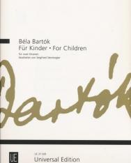 Bartók Béla: Gyermekeknek/For Children - 2 gitárra