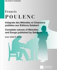 Francis Poulenc: Chansons