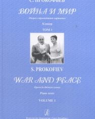 Sergei Prokofiev: War and Peace - zongorakivonat (2 kötet, orosz)