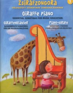 Zsiráfzongora 1. - Válogatott szonatinák zeneiskolásoknak