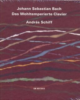 Johann Sebastian Bach: Das Wohltemperierte Klavier 1-2 (4 CD)