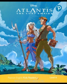 Atlantis - The Lost Empire with Audio Access Code - Penguin Kids Disney Reader Level 6
