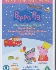 Peppa Pig Triple Pack (Princess Peppa, Fire Engine and Peppa's Christmas) DVD