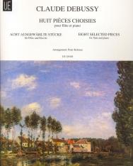 Claude Debussy: Eight Selected Pieces - fuvolára, zongorakísérettel