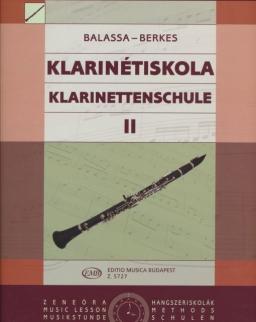 Balassa-Berkes: Klarinétiskola 2.