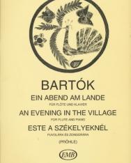 Bartók: Este a székelyeknél (fuvola)