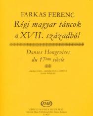 Farkas Ferenc: Régi magyar táncok hárfára