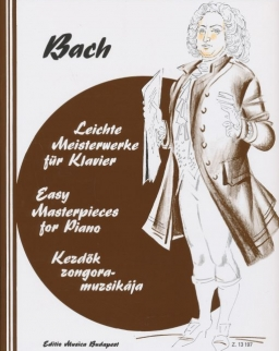 Johann Sebastian Bach: Kezdők zongoramuzsikája