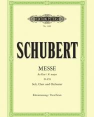 Franz Schubert: Messe  Asz-dúr - zongorakivonat
