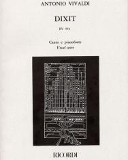 Antonio Vivaldi: Dixit Dominus - zongorakivonat